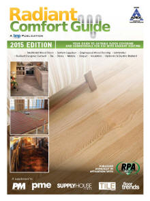 2014 radiant flooring guide for Healthy flooring guide