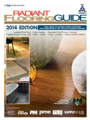 2014 Radiant Flooring Guide