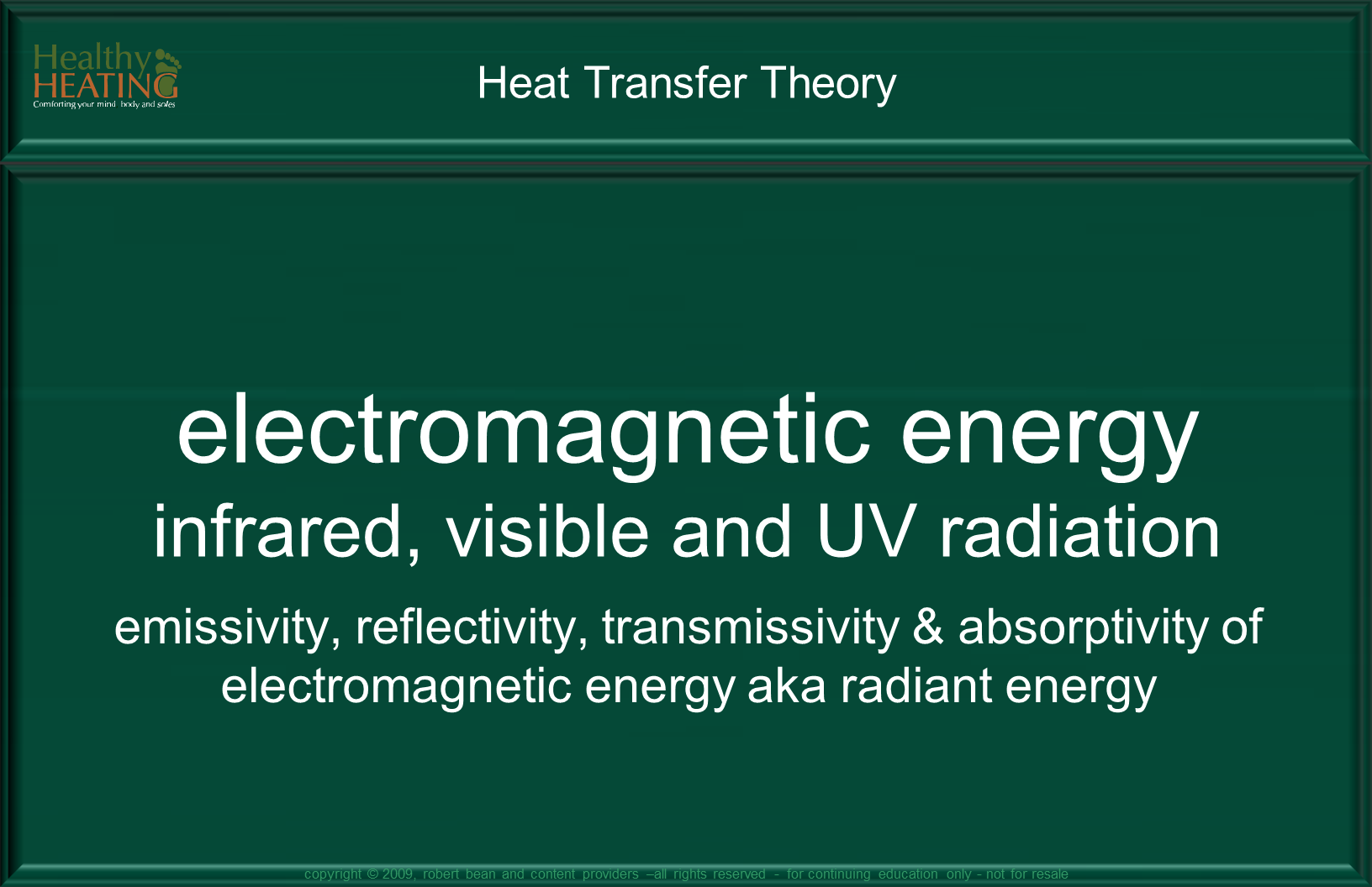 Radiant Theory :: Electromagnetic Waves of Energy :: infrared ...