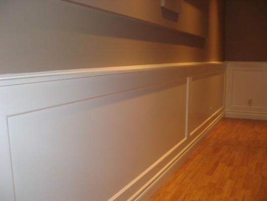 wainscoting basement office the nice part of the wall heating