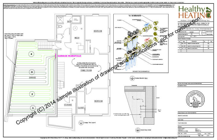 hvac cad drawing sample set #1 design, drawings and specifications for ... #8
