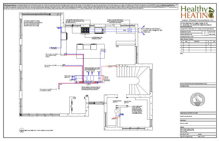 House pipe layout