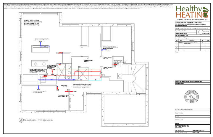 hvac drawing layout sample set #4 design, drawings and specifications for ...