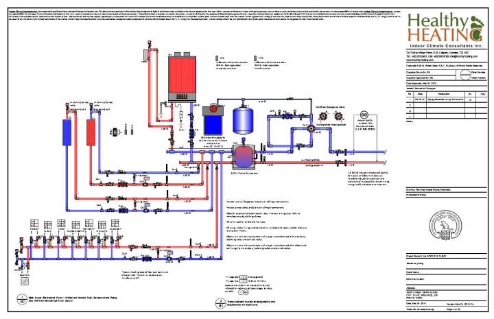 Hvac Piping Diagram - Wiring Circuit •