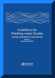 Guidelines for Drinking-water Quality - World Health Organization