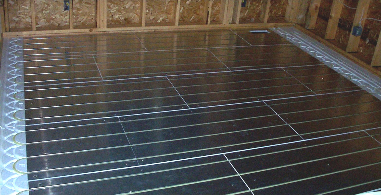 Radiant heating installations the good bad and ugly for Radiant heat flooring options
