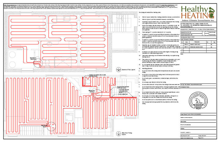 sample set #2 design, drawings and specifications for residential hvac systems piping layout notes piping layout compressor