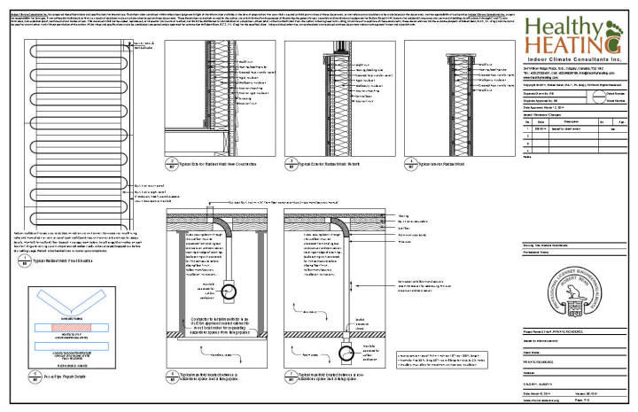 sample set  2 design  drawings and specifications for residential hvac systems